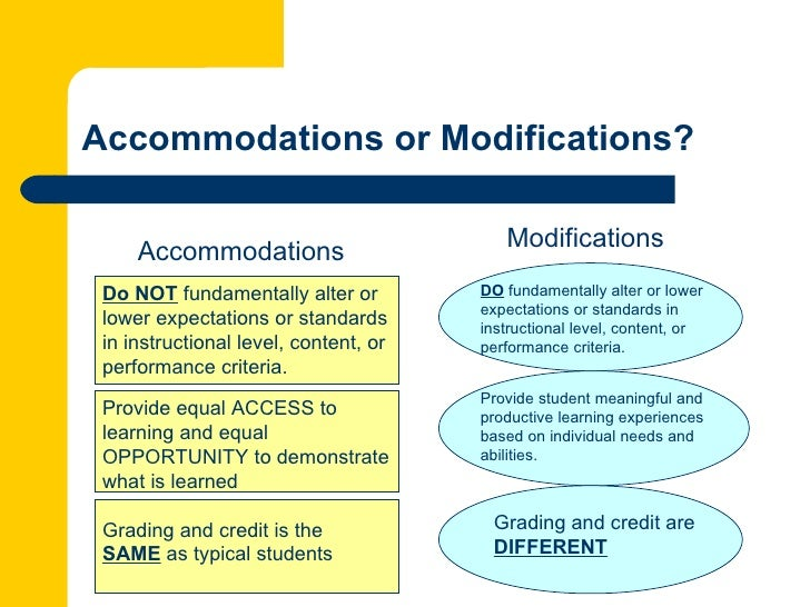 choosing outcomes and accommodations for children pdf